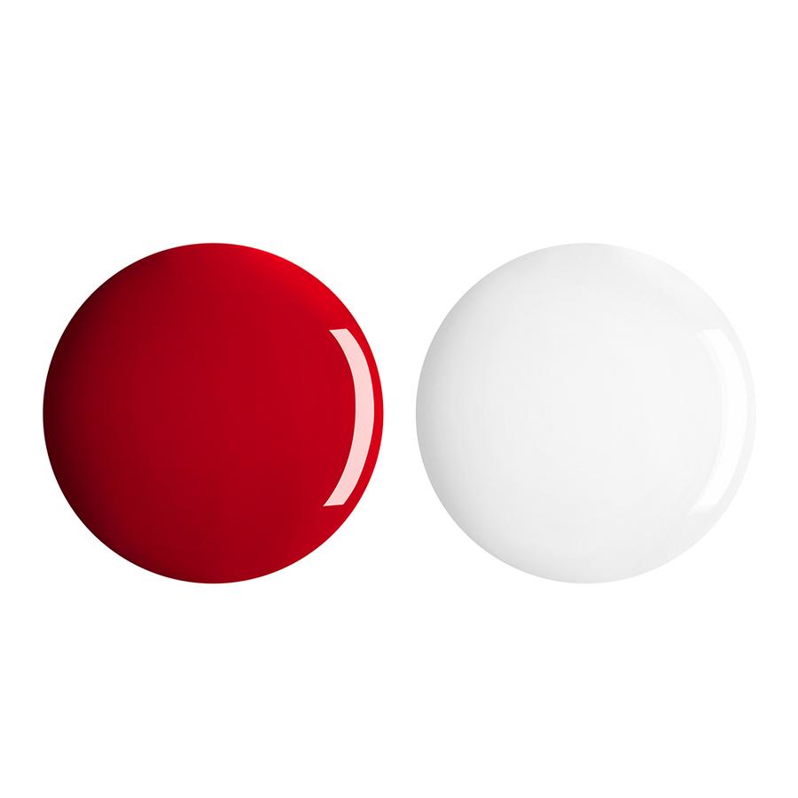 Купить Лаки для ногтей, Perfect Gel Duo, Kiko Milano, 704 Sangria, KM0040400270433