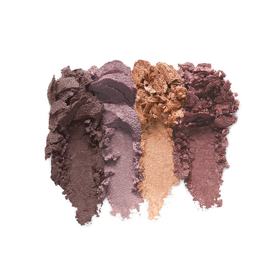 Купить Тени для век, Bright Quartet Baked Eyeshadow Palette, Kiko Milano, 02 Rosy Mauve Variations, KM0030900400244