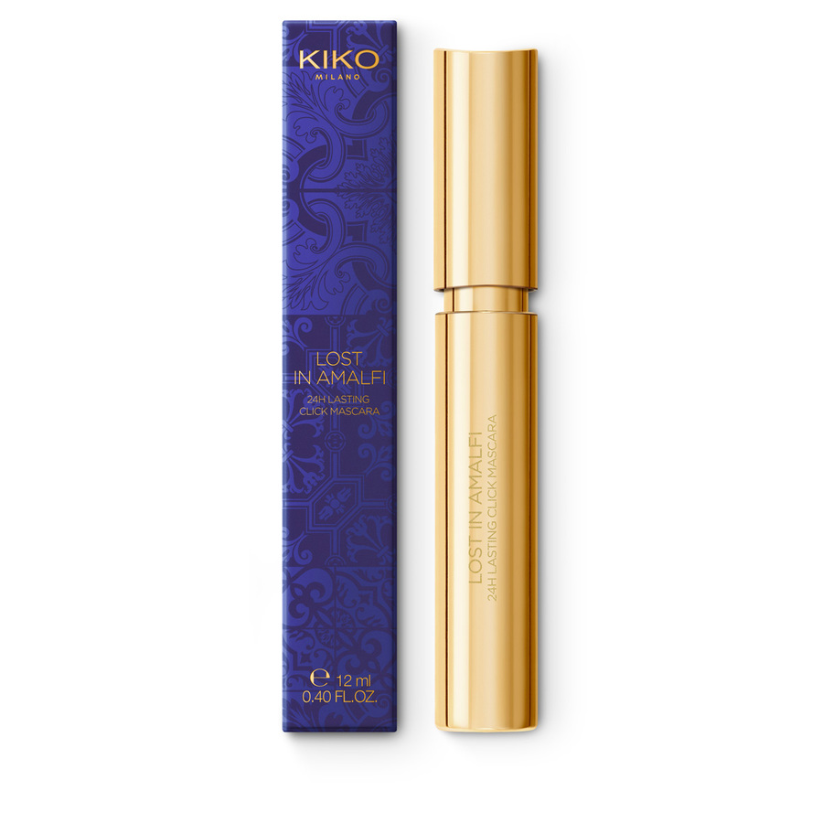 Купить Тушь, LOST IN AMALFI 24H LASTING CLICK MASCARA, Kiko Milano, KC000000156001B