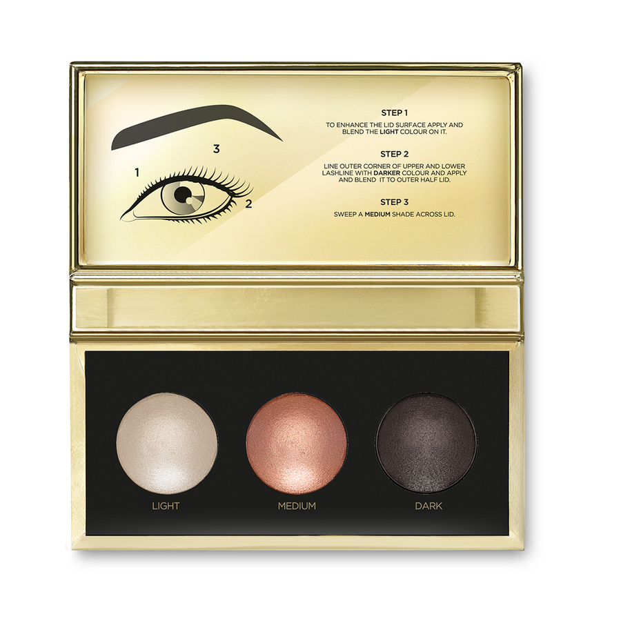 MAGICAL HOLIDAY METALLIC EYESHADOW TRIO