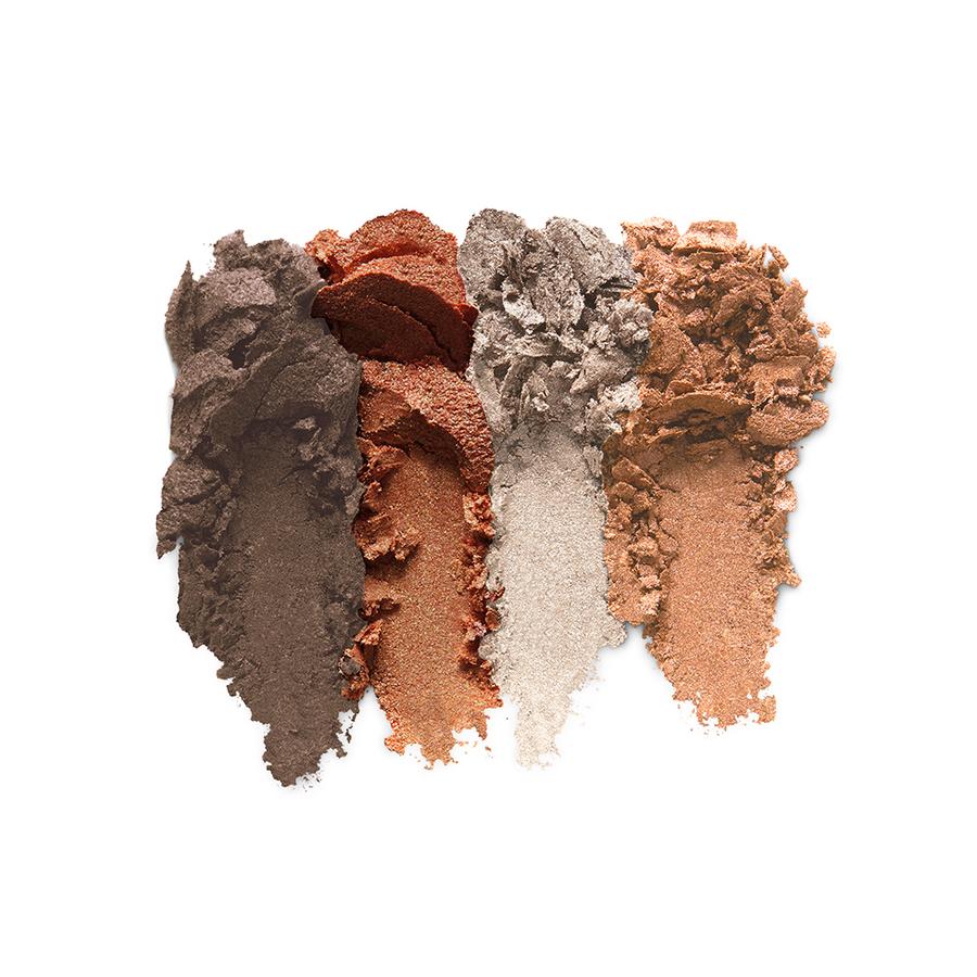 Купить Тени для век, Bright Quartet Baked Eyeshadow Palette, Kiko Milano, 01 Warm Natural Tones, KM0030900400144