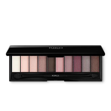 Купить Тени, Smart Eyeshadow Palette, Kiko Milano, 01 Garden Rose, KM0030900300144