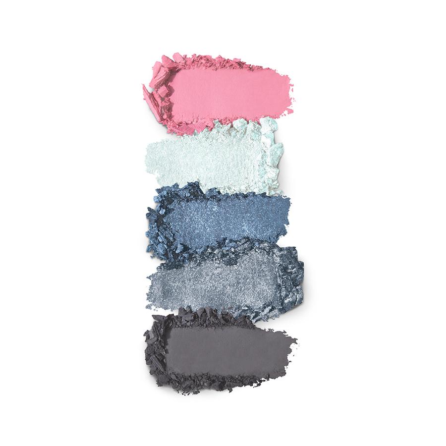Купить Палитра для лица, Smart Eyes and Cheeks Palette, Kiko Milano, 01 Blue Symphony, KM0030900500144