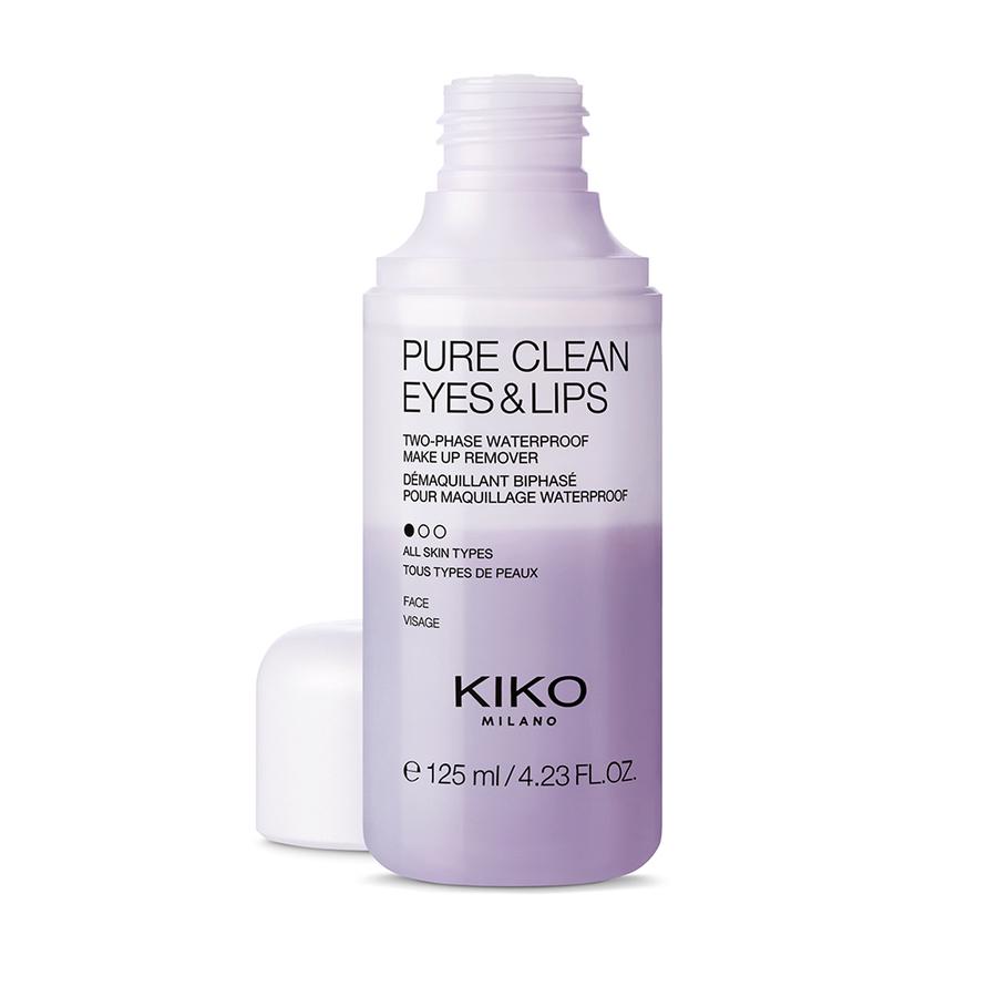 Купить Очищение Kiko Milano, Pure Clean Eyes - Lips, KS0200503700044