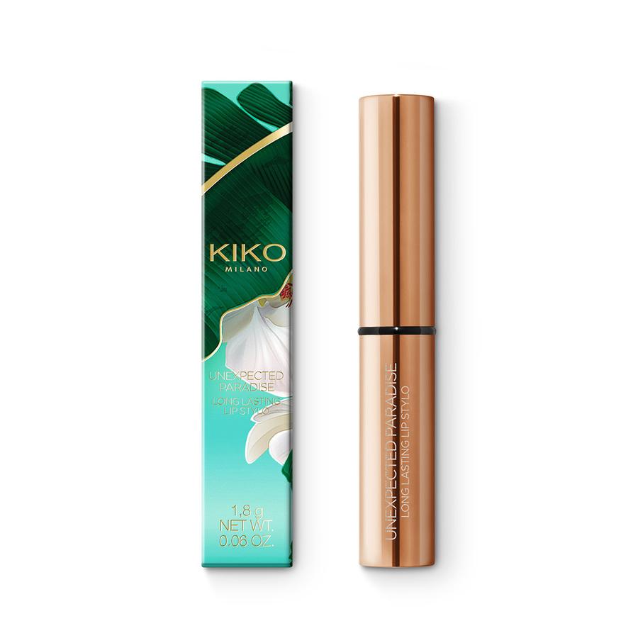 Купить Блески для губ, UNEXPECTED PARADISE LONG LASTING LIP STYLO, Kiko Milano, 02 Positive Attitude, KC000000121002B