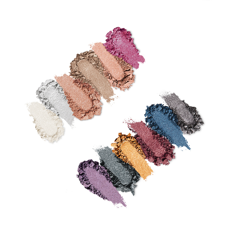 Купить Палитра для глаз, Smart Cult Eyeshadow Palette, Kiko Milano, 02 Shocking Sparkle Shades, KM0030900700244