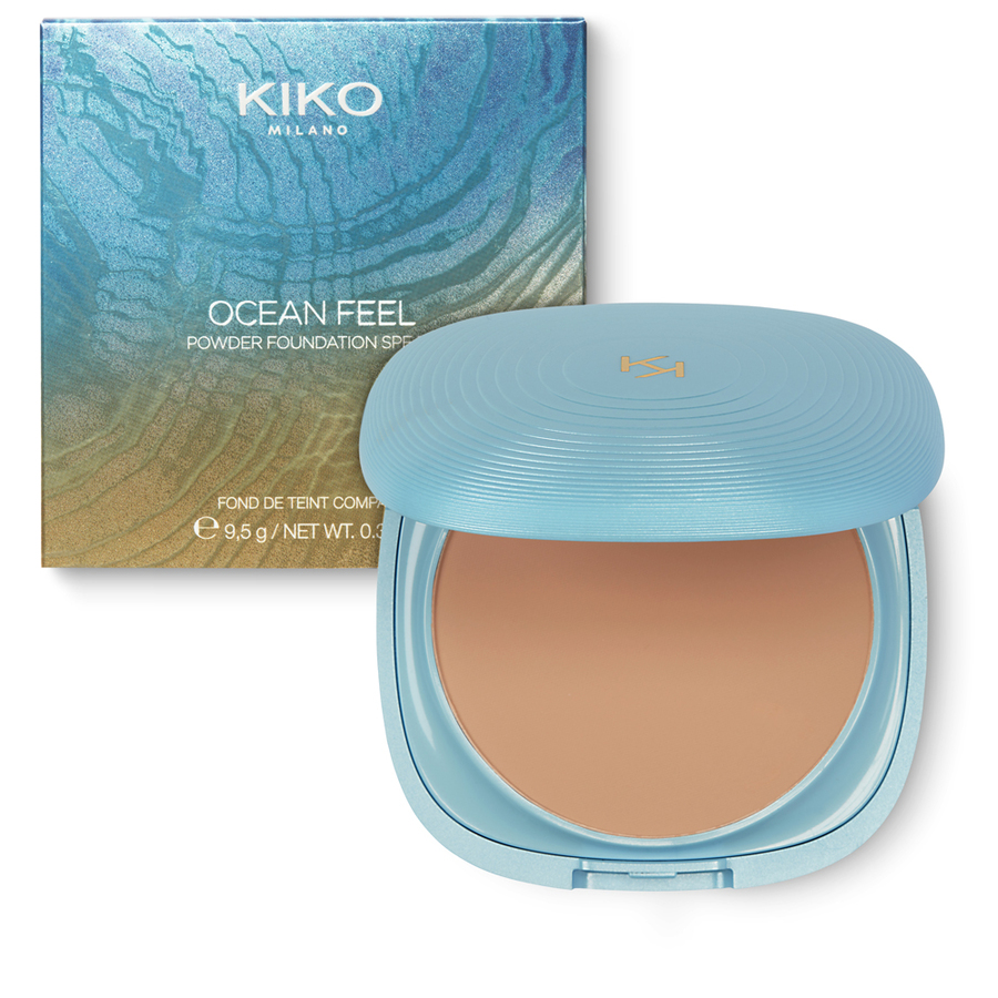 Купить OCEAN FEEL POWDER FOUNDATION SPF50, Kiko Milano, 08 Dark, KC090704012008A