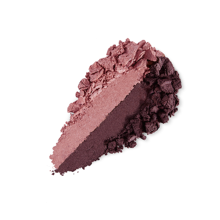 Купить Тени, Bright Duo Baked Eyeshadow, Kiko Milano, 14 Satin Ancient Rose - Matte Wine, KM0031300401444