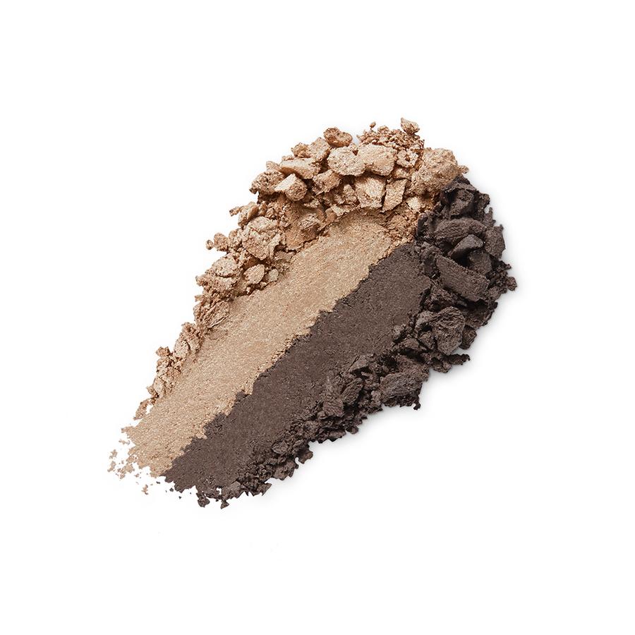 Купить Тени, Bright Duo Baked Eyeshadow, Kiko Milano, 05 Deep Gold - Satin Chocolate, KM0031300400544