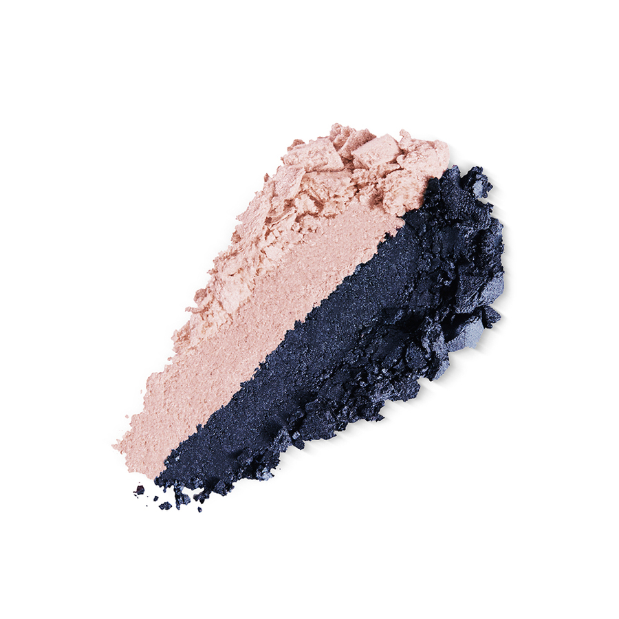 Купить Тени, Bright Duo Baked Eyeshadow, Kiko Milano, 10 Matte Candy Rose - Satin Navy Blue, KM0031300401044