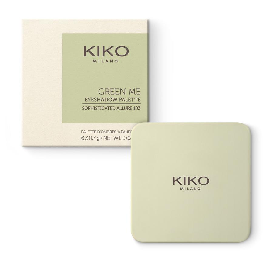 Купить Тени, NEW GREEN ME EYESHADOW PALETTE - EDITION 2020, Kiko Milano, KM000000060103B