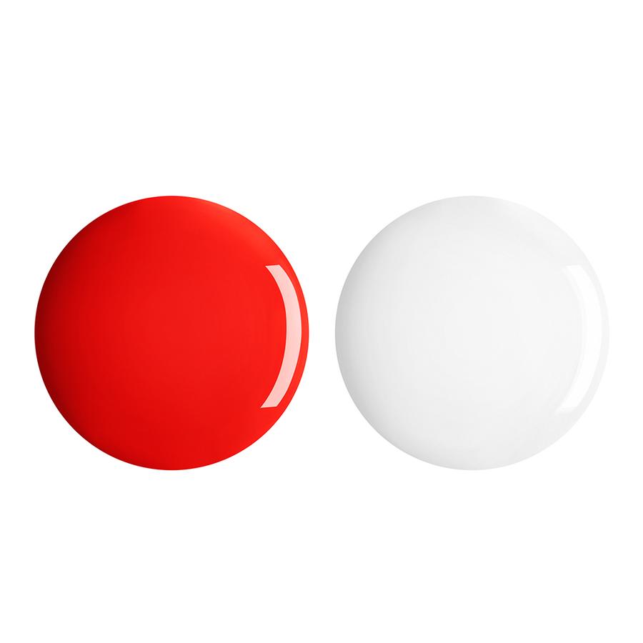 Купить Лаки для ногтей, Perfect Gel Duo, Kiko Milano, 671 Fire Red, KM0040400267133