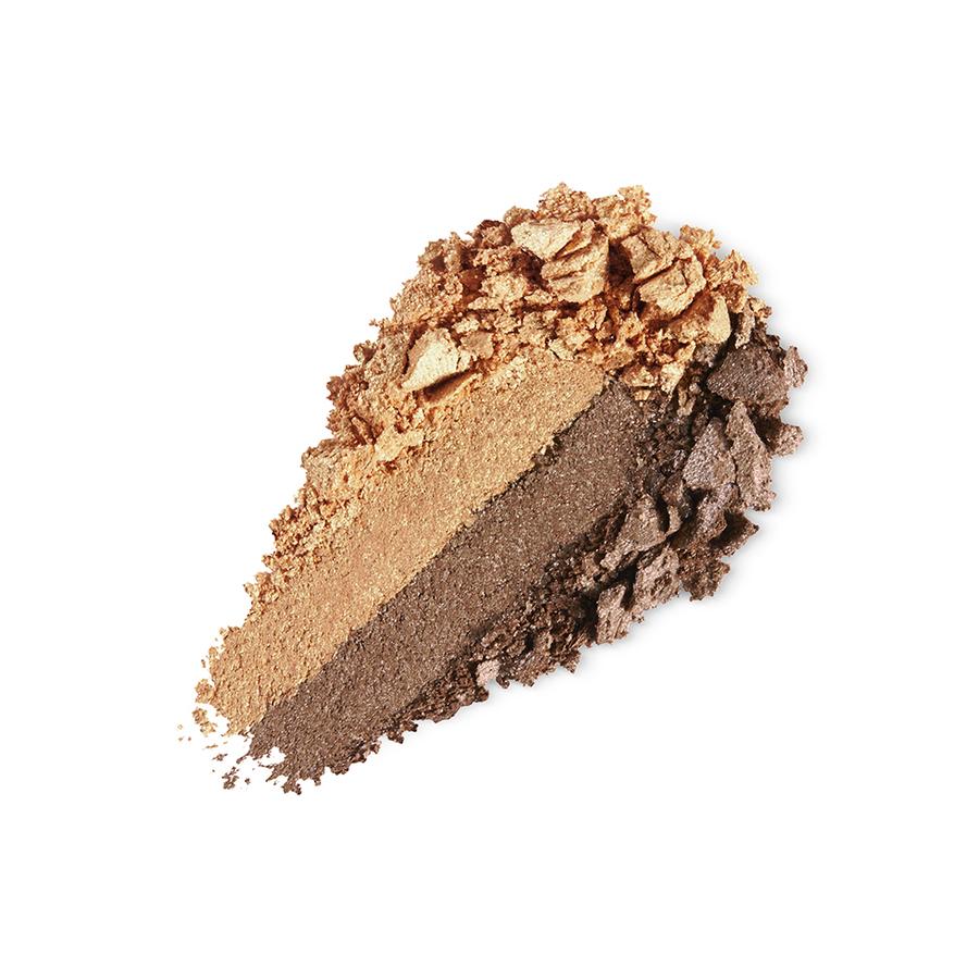 Купить Тени, Bright Duo Baked Eyeshadow, Kiko Milano, 20 Pearly Gold - Pearly Sand, KM0031300402044