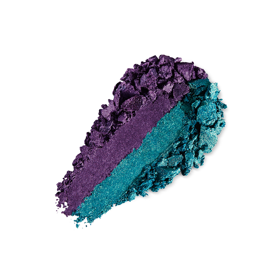 Купить Тени, Bright Duo Baked Eyeshadow, Kiko Milano, 09 Pearly Emerald - Metallic Violet, KM0031300400944
