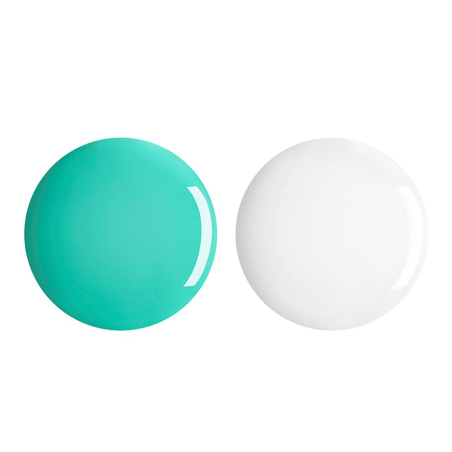 Купить Лаки для ногтей, Perfect Gel Duo, Kiko Milano, 678 Spring Green, KM0040400267833