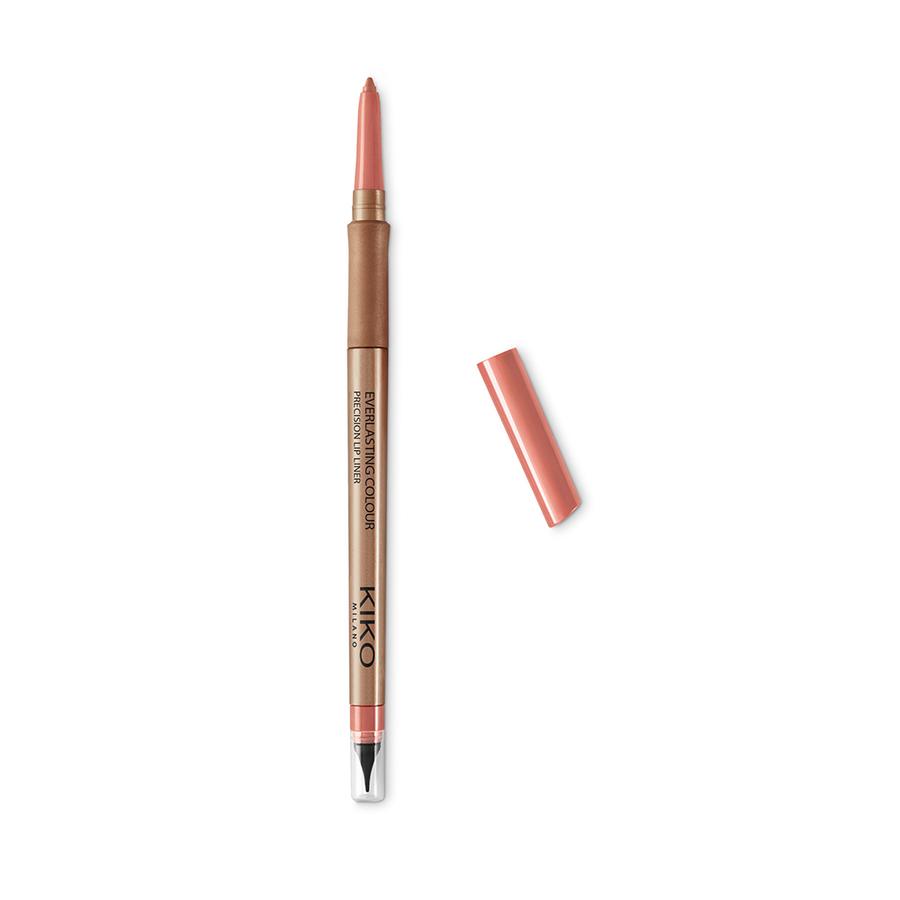 Купить Карандаши для губ, Everlasting Colour Precision Lip Liner, Kiko Milano, 402 Almond, KM0020301440244
