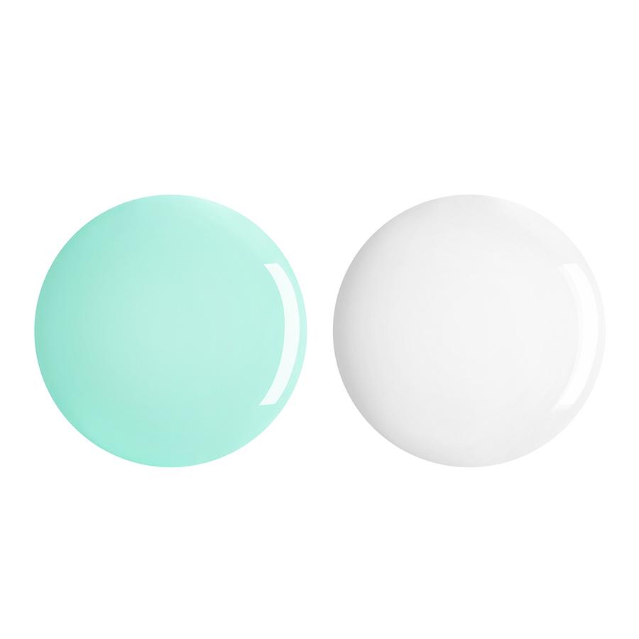 Купить Лаки для ногтей, Perfect Gel Duo, Kiko Milano, 677 Milk Mint, KM0040400267733